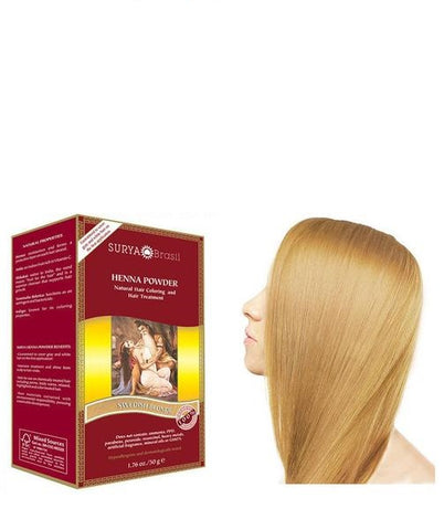 Henna Powder Swedish Blonde