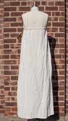 Organic Cotton Long Striped Dress