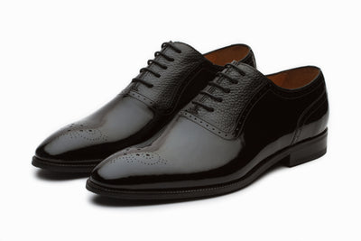 Patent Leather Oxford Shoes ( UK 8, 9 &11  ONLY )