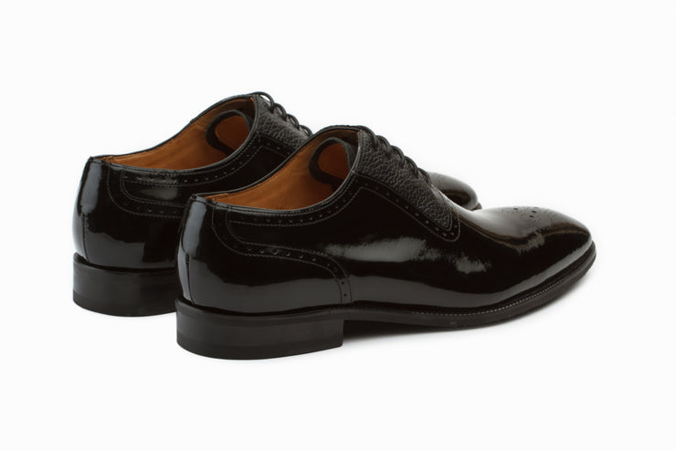 Patent Leather Oxford Shoes ( UK 8,9 &11  ONLY )