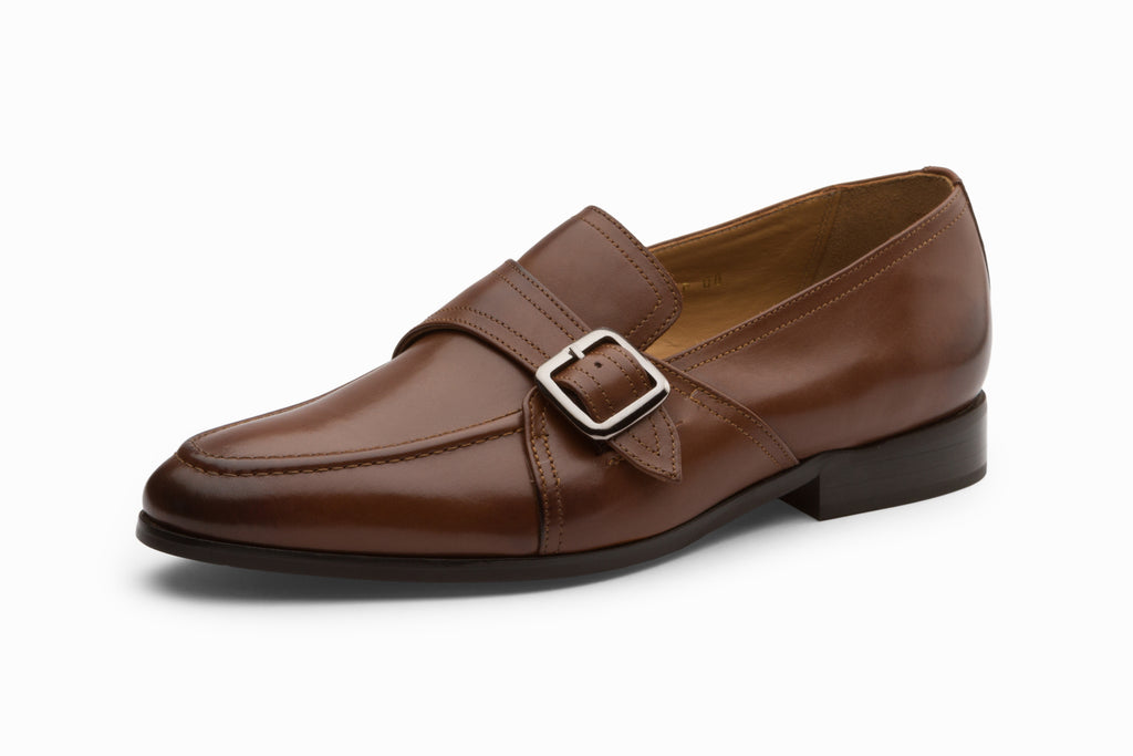 Monk Style Loafer - Brown