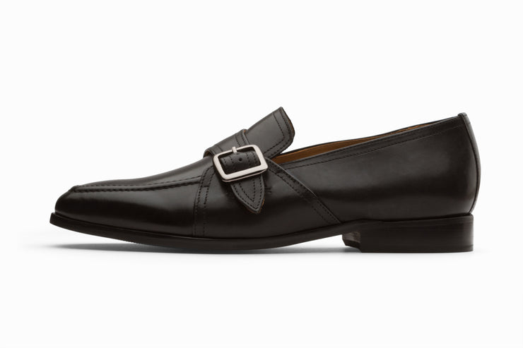 Monk Style Loafer - Black UK 6,10 & 11 ONLY )