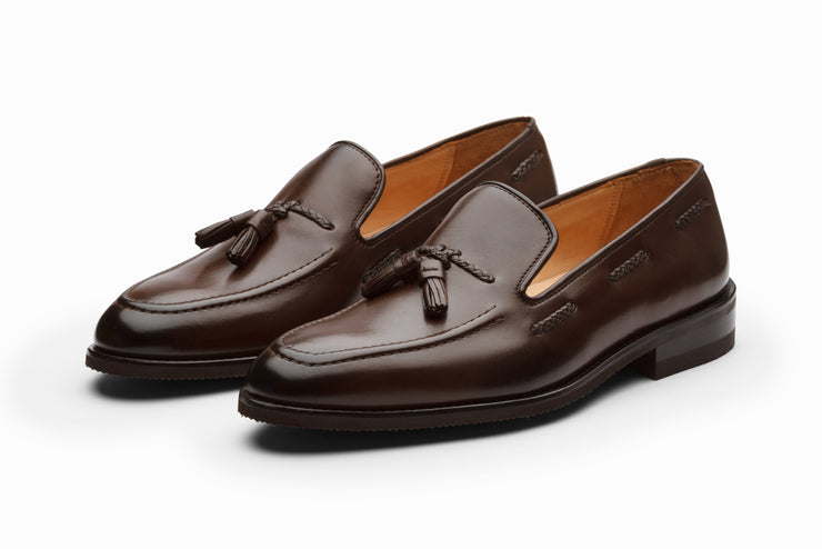 Tassel Loafers- Dark Brown