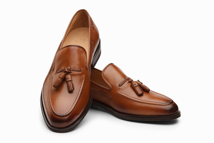 Tassel Loafers- Tan