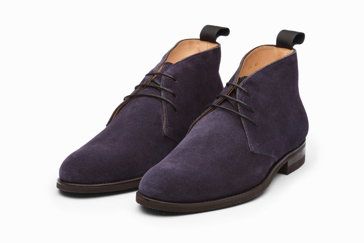 Chukka Boot - Navy Suede