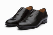 Black Formal Leather Oxford