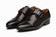Toe Cap Single Monkstrap Black