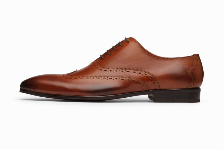 Wingtip Oxford - Cognac