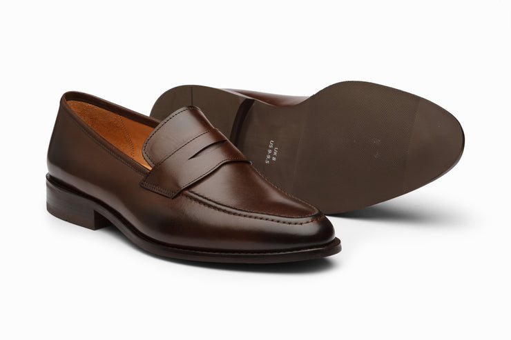 Penny Loafer - Dark Brown