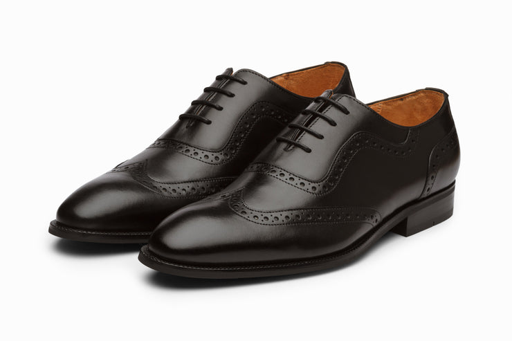 Wingtip Brogue - Black