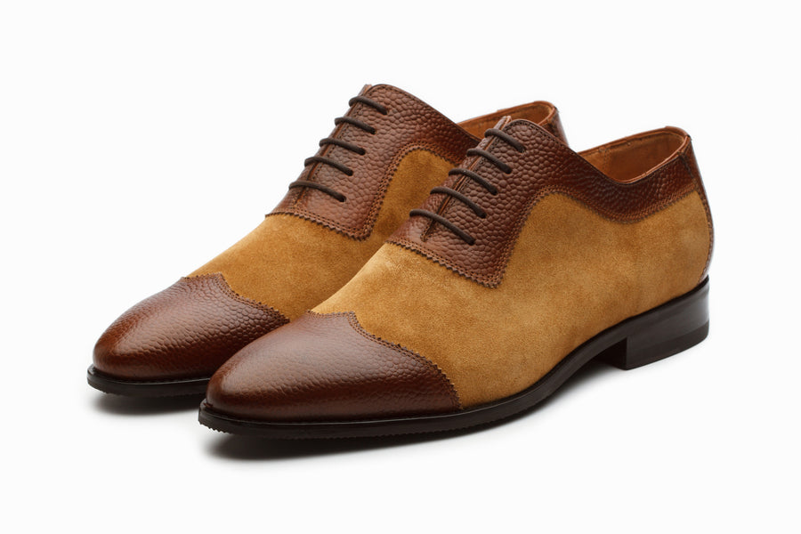 Albert Suede Oxford - Brown