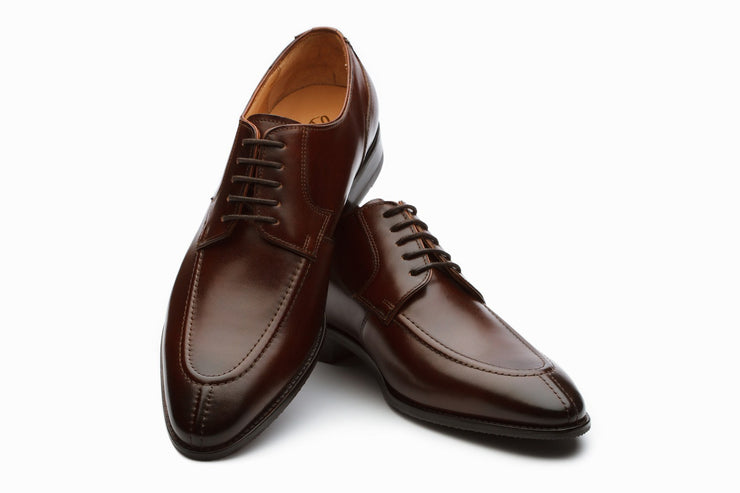Derby - Dover Leather Derby Shoes - Brown