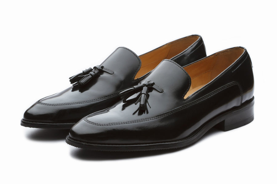 Loafers - Axel Tassel Loafers - Black