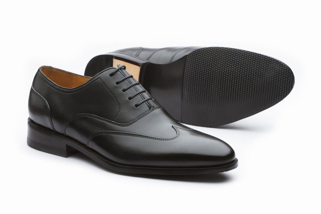 Oxfords - Sartorial Leather Oxford - Black