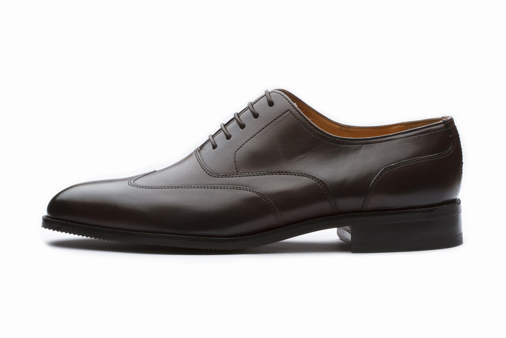 Oxfords - Sartorial Leather Oxford - Dark Brown