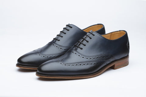 Oxfords - Wingtip Oxford - Navy
