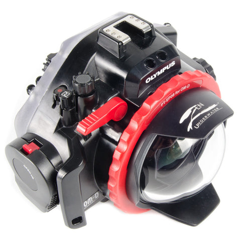 DP-100-EP08 Fisheye Dome Port for Panasonic 8mm