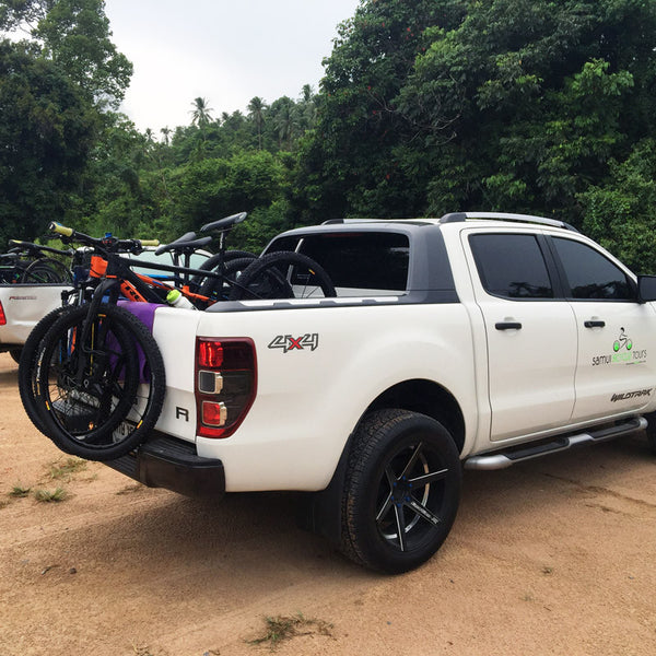 Samui Bicycle Tours Ford Ranger Wildtrak 4WD
