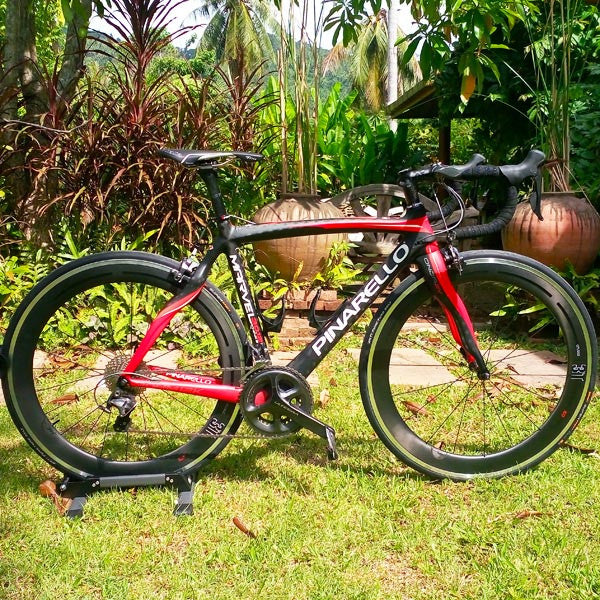 2014 Pinarello Marvel Road Bike - Samui Bicycle Tours and Bike Hire