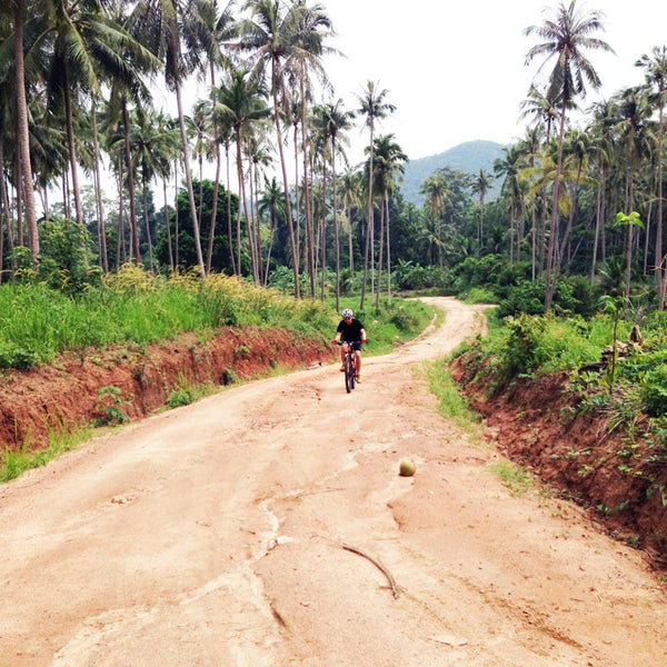 Coconut Trails at Maenam. Samui Bicycle Tours.