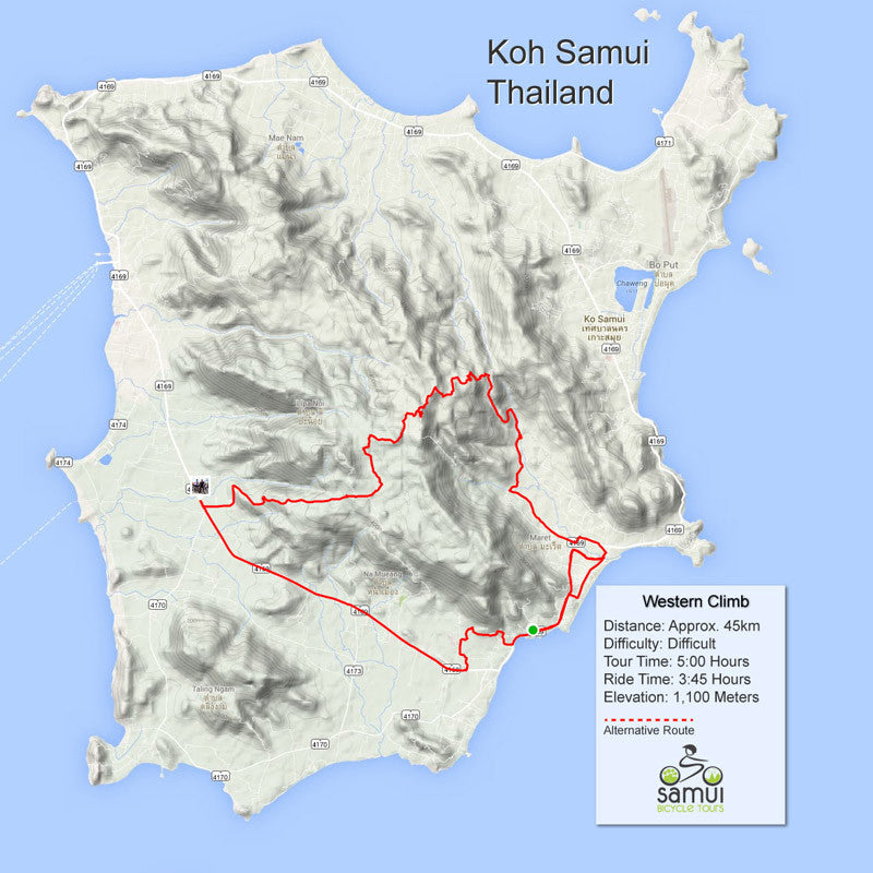 Custom Bicycle Tours from Samui Bicycle Tours Thailand. on map of western australia, map of western europe region, map of western netherlands, map of western usa, map of western haiti, map of western central africa, map of western syria, map of western arabia, map of western israel, map of western france, map of western madagascar, map of western world, map of western central america, map of western indian ocean, map of western russia, map of western new guinea, map of western united states of america, map of western europe 2012, map of western italy, map of western west africa,