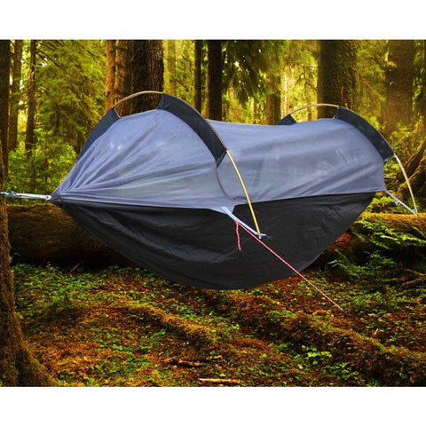 BriSunshine Hammock Tent with Mosquito Net and Rainfly Cover