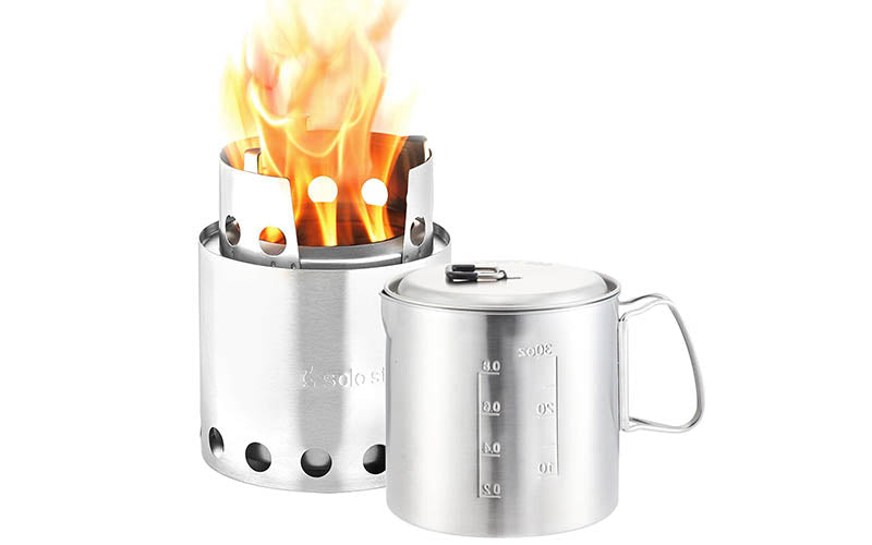 Solo Stove Ultralight Wood Burning Backpacking Cooking System