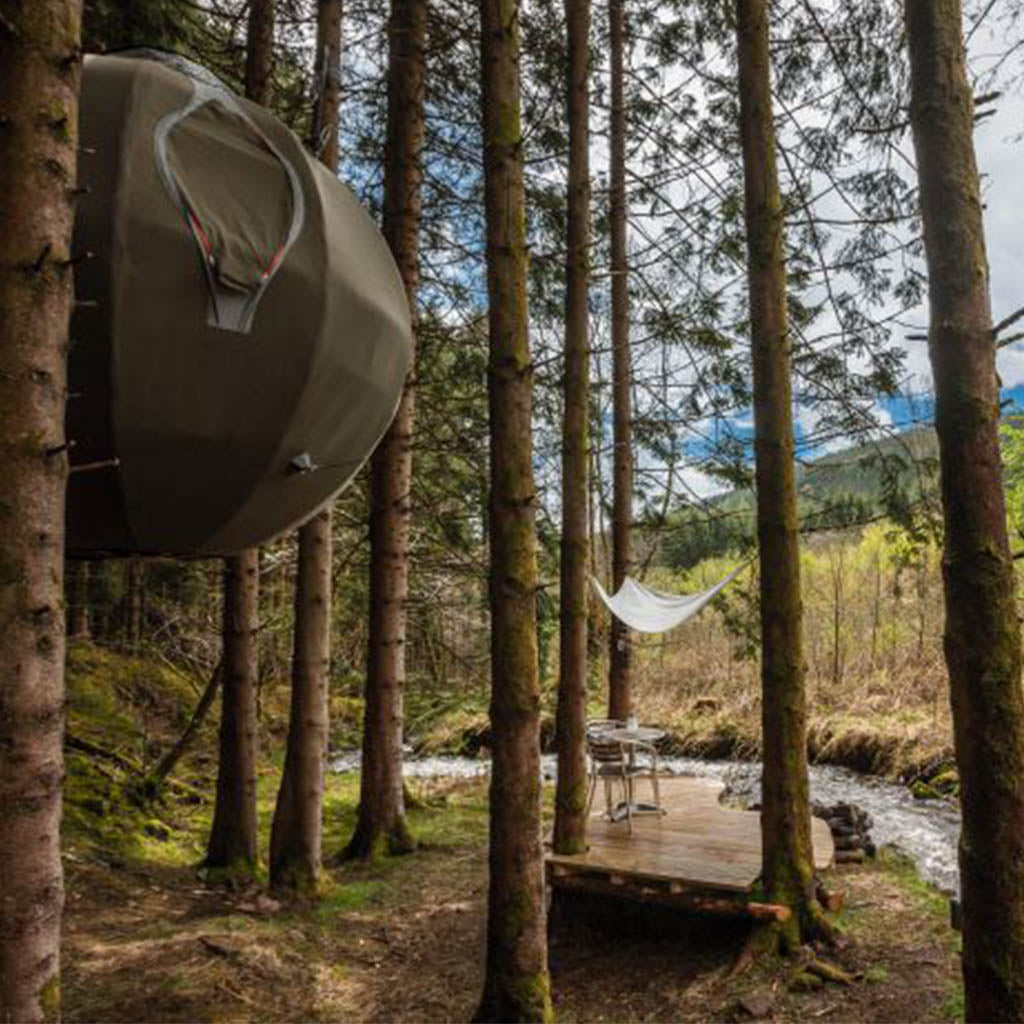 Luminair Spherical Tree Tents - $12500 & 19 of the Most Spectacular Tree Tents that Money Can Buy - Hammock Town