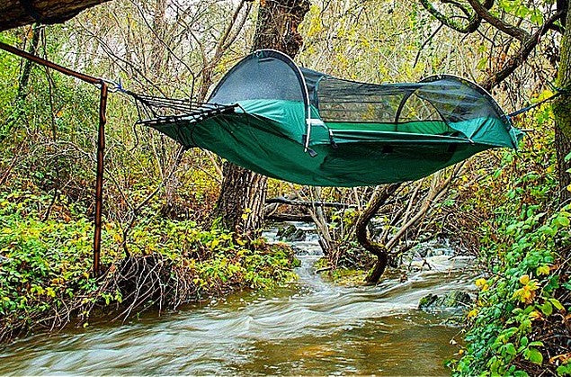 The World Is Your Oyster blue ridge camping hammock tent - Lawson Blue Ridge Camping Hammock Tent Review: Hammok Town