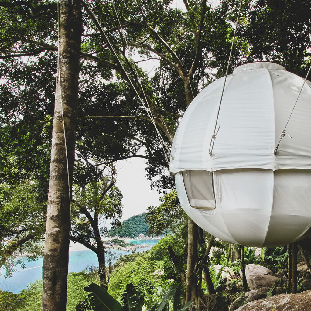 cocoon tree house & 19 of the Most Spectacular Tree Tents that Money Can Buy - Hammock ...