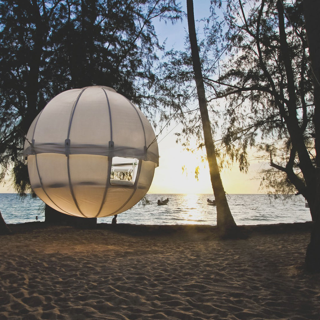 Cocoon Hanging Tree Tent - $7500 & 19 of the Most Spectacular Tree Tents that Money Can Buy - Hammock Town
