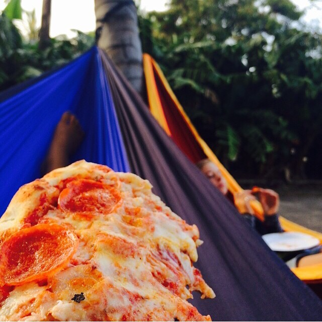 hammock pizza