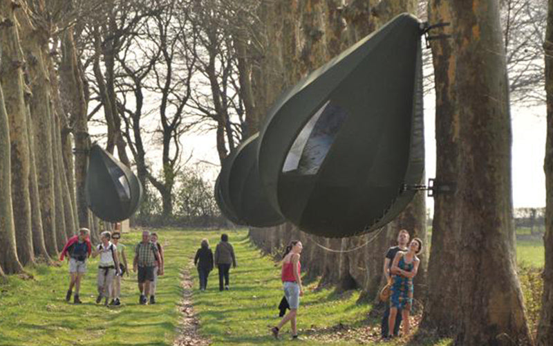 ... raindrop-tree-tent ... & 19 of the Most Spectacular Tree Tents that Money Can Buy - Hammock ...