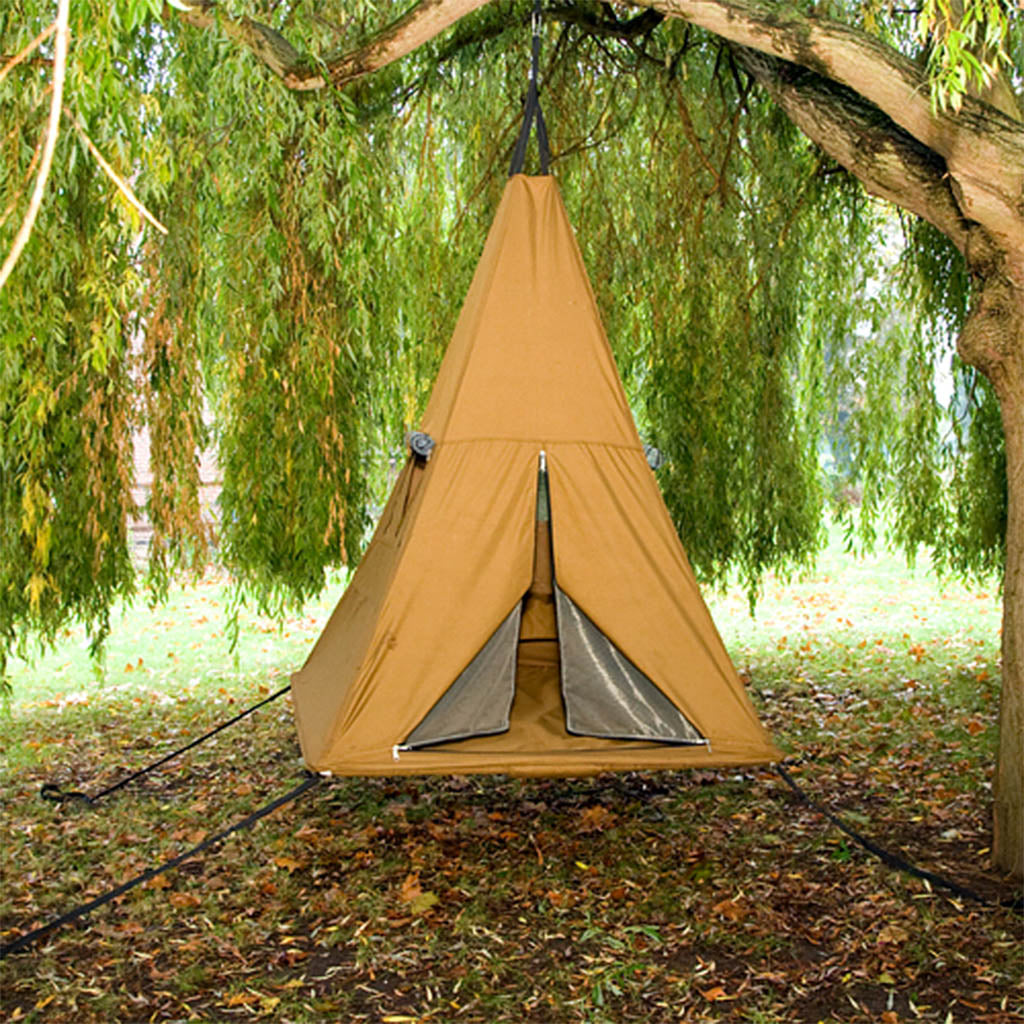 chair tent img the hammock glamping in a outdoors day opt of elements hanging treepod all