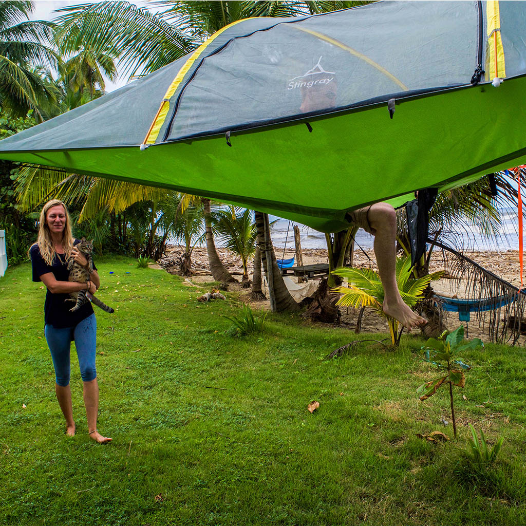 16. Stingray Tree Tent by Tentsile - $650 & 19 of the Most Spectacular Tree Tents that Money Can Buy - Hammock ...