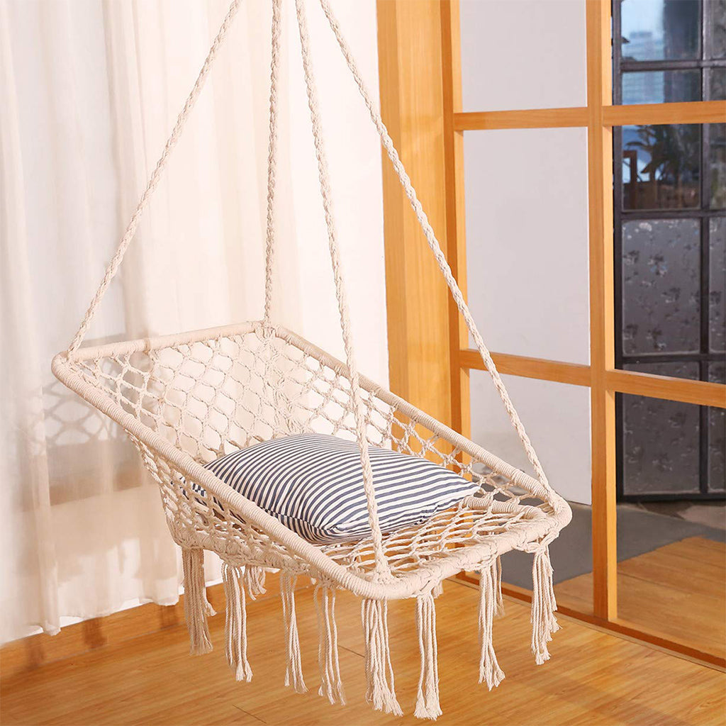 The 6 Most Stylish Hammock Chair Macrame Swings for Your ...