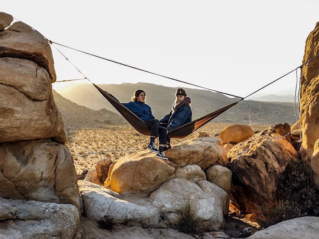 hammocks at joshua tree national park