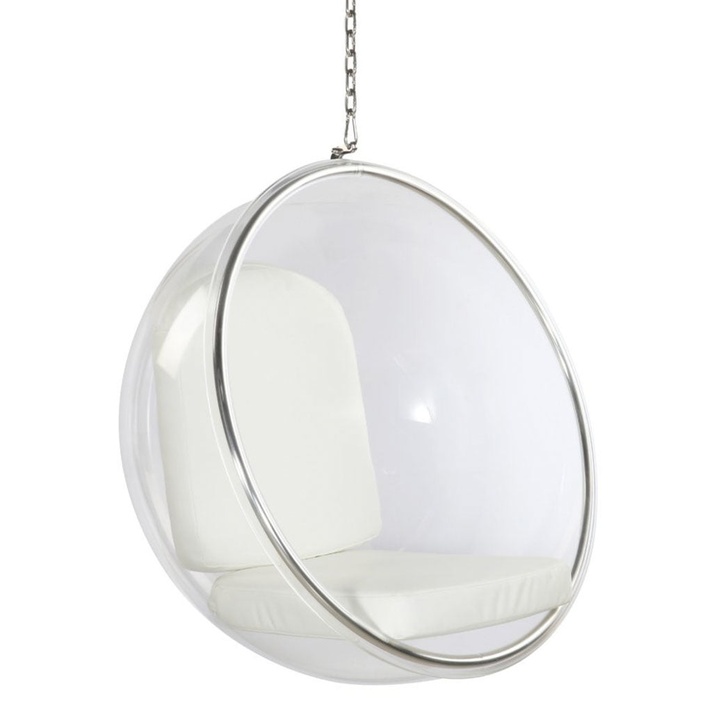 7 luxury hanging egg chairs you 39 ll want to lounge in for Suspended egg chair
