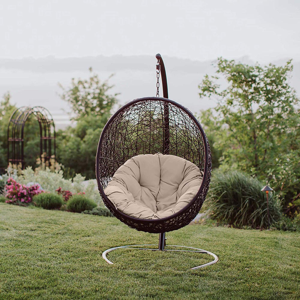 Awesome Best Hanging Wicker Chairs For Outdoor And Indoor Lounge Ibusinesslaw Wood Chair Design Ideas Ibusinesslaworg