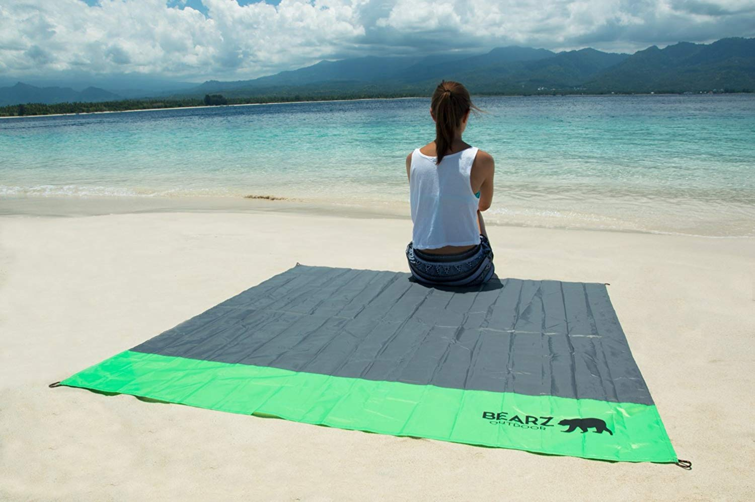 outdoor beach blanket