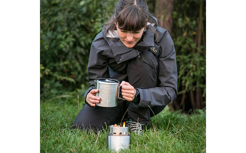 Solo Stove for Backpacking