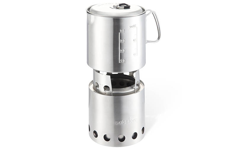 Solostove for backpacking