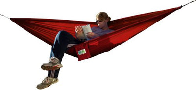 Trek Light Gear - Compact and Ultralight Hammock - Weighs only 14 oz. - {Red}