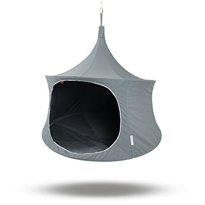 TreePod Lounger 6-Foot Hanging Daybed, Graphite