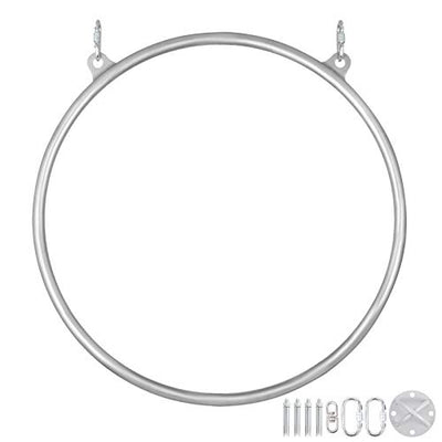 Aerial Yoga Hoop Single Point Aerial Ring Set (90cm Double)