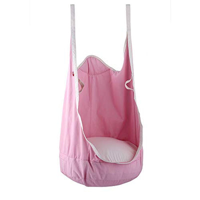 Folding Hanging Pod Swing Seat Indoor and Outdoor Hammock for Children