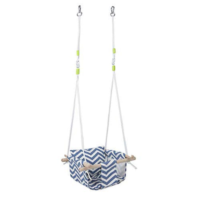 BEAMNOVA Canvas Swing Chair Set with Cushion