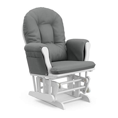 Storkcraft Premium Hoop Glider and Ottoman