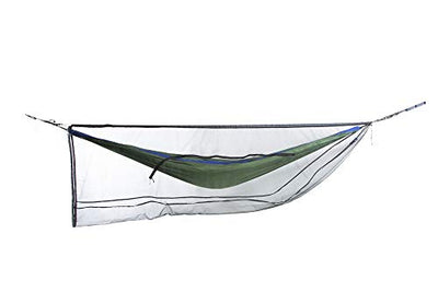ENO, Eagles Nest Outfitters Guardian SL Bug Net, Hammock Bug Netting, Charcoal (2019)