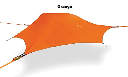 c1f3c3b53 Tentsile Stingray - Suspended Camping Tree House Tent - 3 Person - Orange  Rainfly